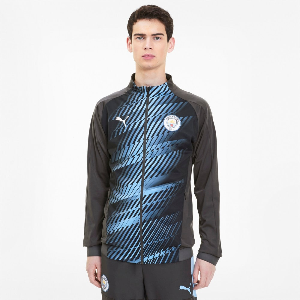 Image Puma Man City Men's Stadium Jacket #1