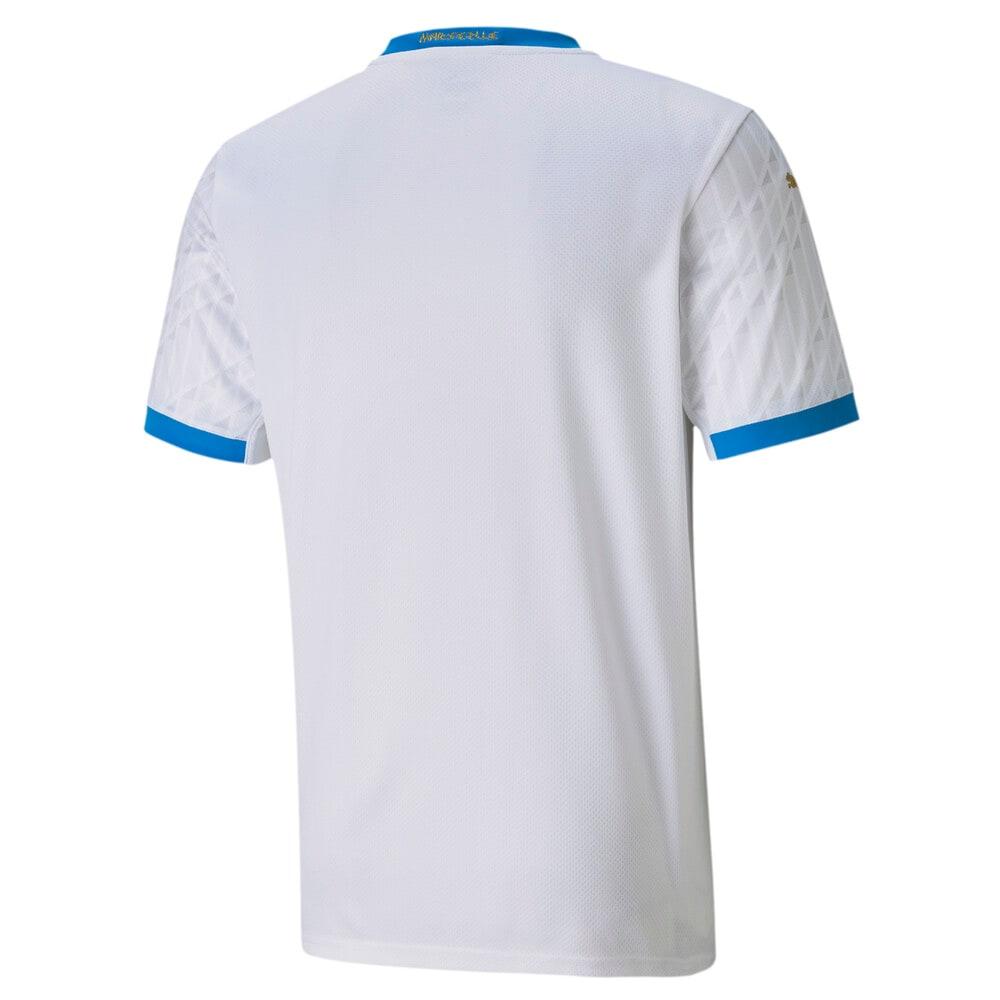 Image Puma Olympique de Marseille Home Replica Men's Jersey #2