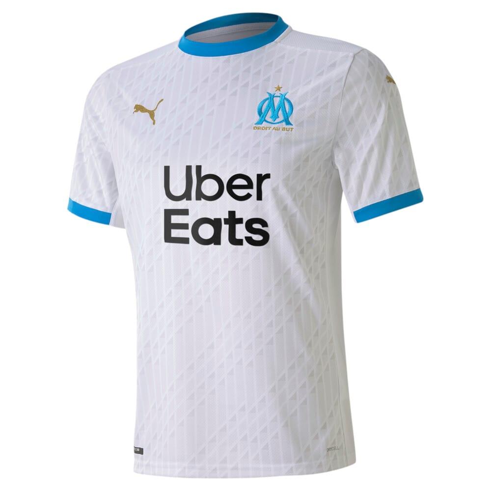 Image Puma Olympique de Marseille Home Replica Men's Jersey #1