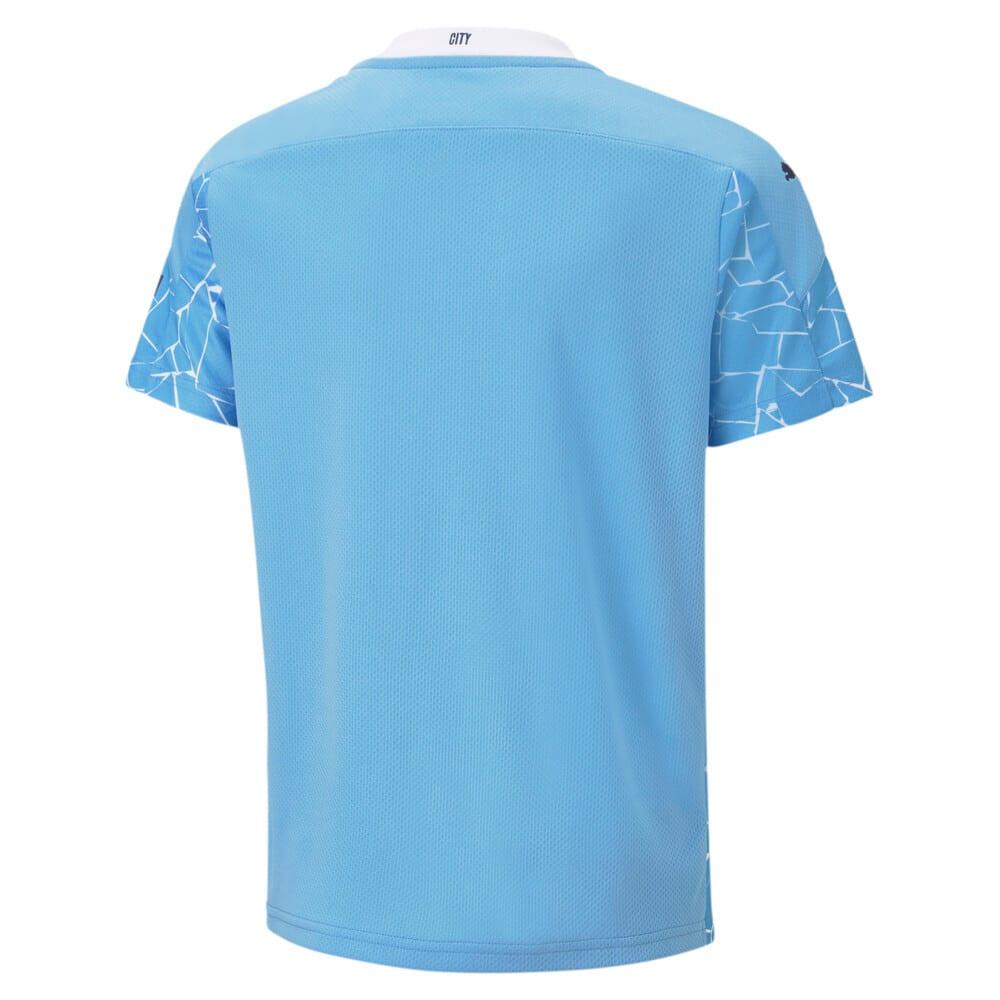 Изображение Puma Детская футболка MCFC HOME Shirt Replica Jr #2