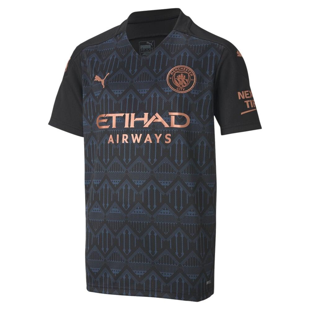 Изображение Puma Детская футболка Man City Away Replica Youth Jersey #1