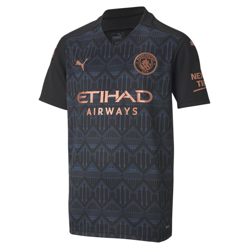 Image Puma Manchester City FC Kids' Away Replica Jersey JR #1