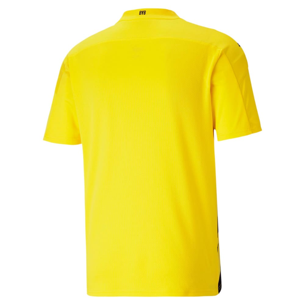 Image Puma BVB Home Replica Short Sleeve Men's Jersey #2
