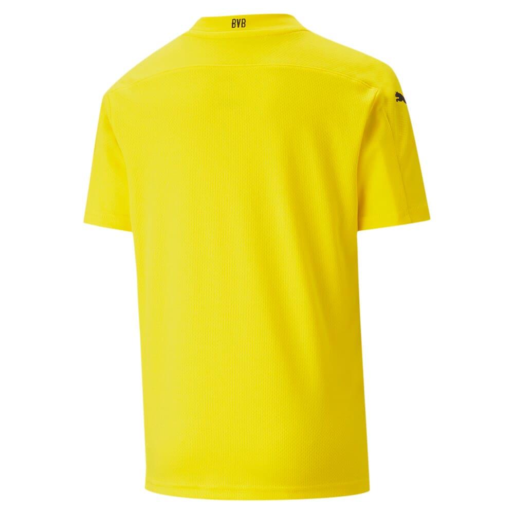 Изображение Puma Детская футболка BVB HOME Shirt Replica SS Jr #2