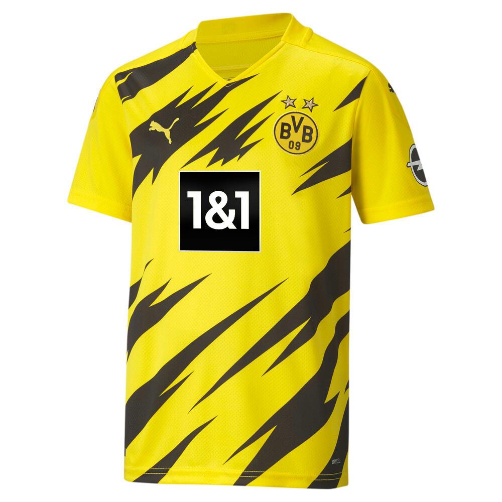 Изображение Puma Детская футболка BVB HOME Shirt Replica SS Jr #1