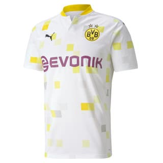Изображение Puma Футболка BVB THIRD Shirt Replica SS