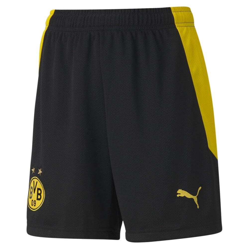 Изображение Puma Детские шорты BVB Shorts Replica Jr #1