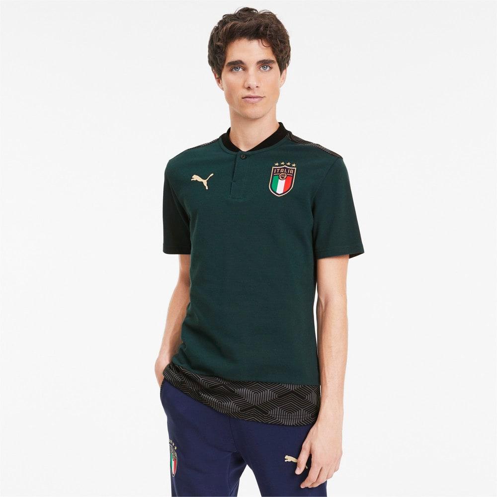 Изображение Puma Поло Italia Casuals Men's Polo Shirt #1
