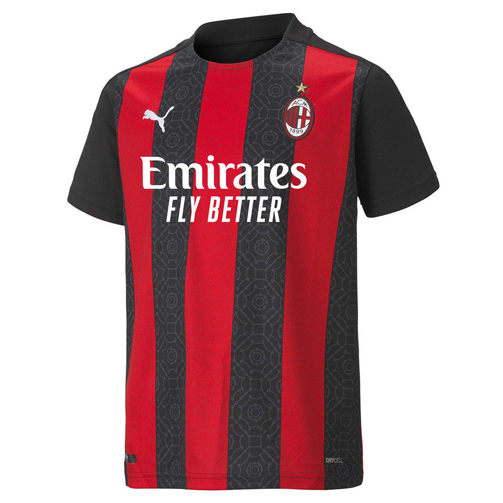 Image Puma AC Milan Home Replica Youth Jersey #1