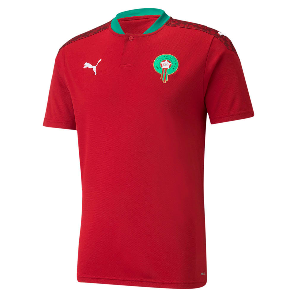 Image Puma Morocco Home Replica Men's Jersey #1
