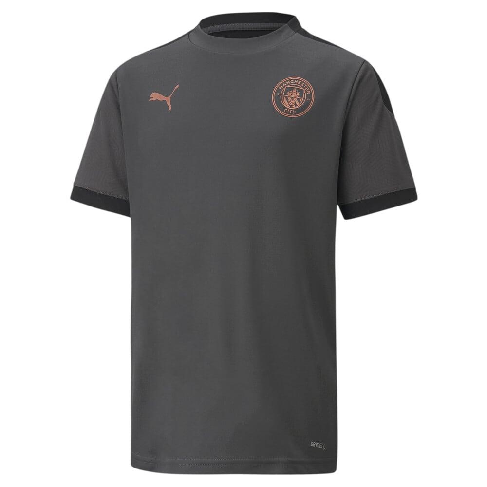 Изображение Puma Детская футболка MCFC Training Jersey Jr #1