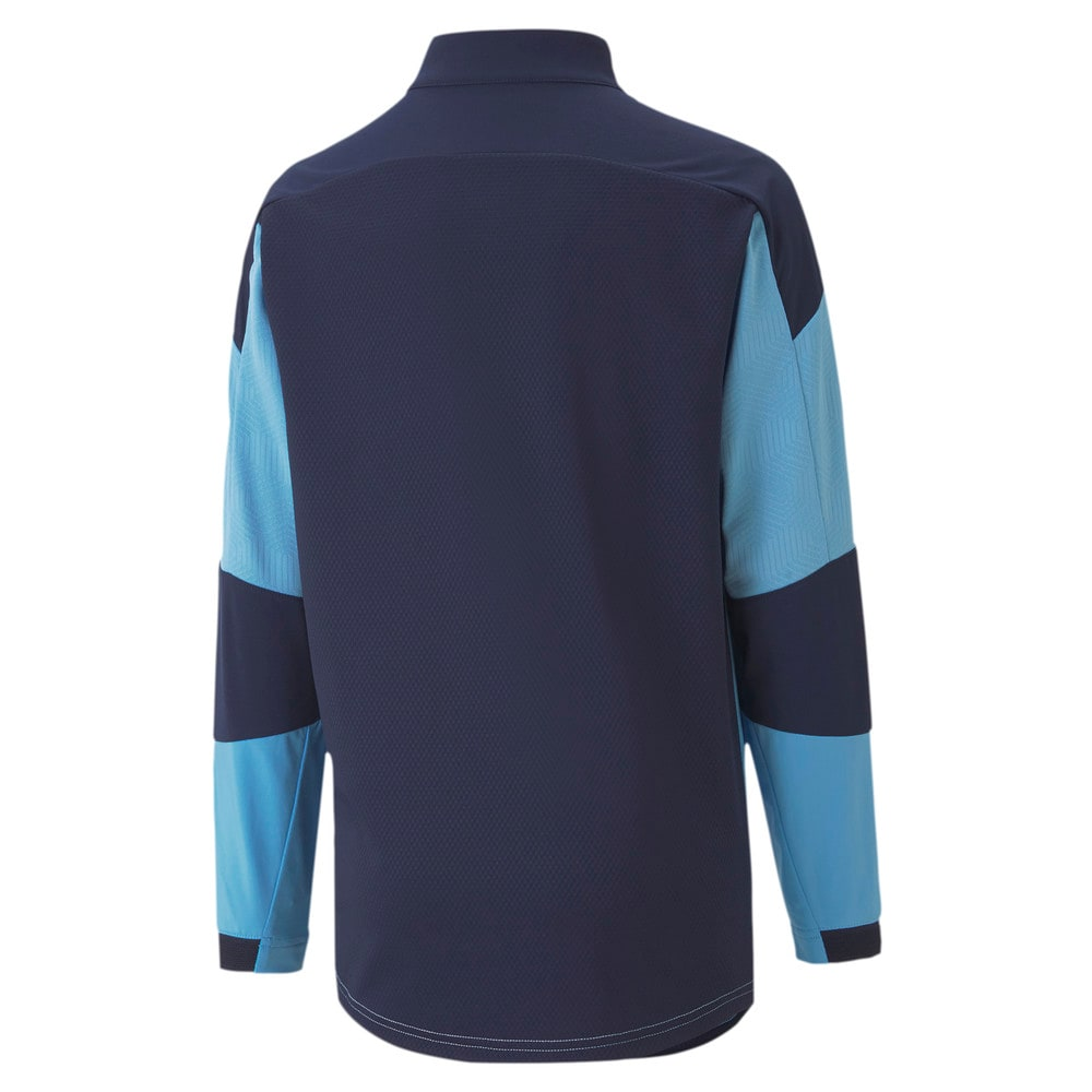 Image Puma Man City Quarter-Zip Youth Football Top #2
