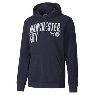 Imagen PUMA Polerón de fútbol con capucha ftblCORE Manchester City para hombre