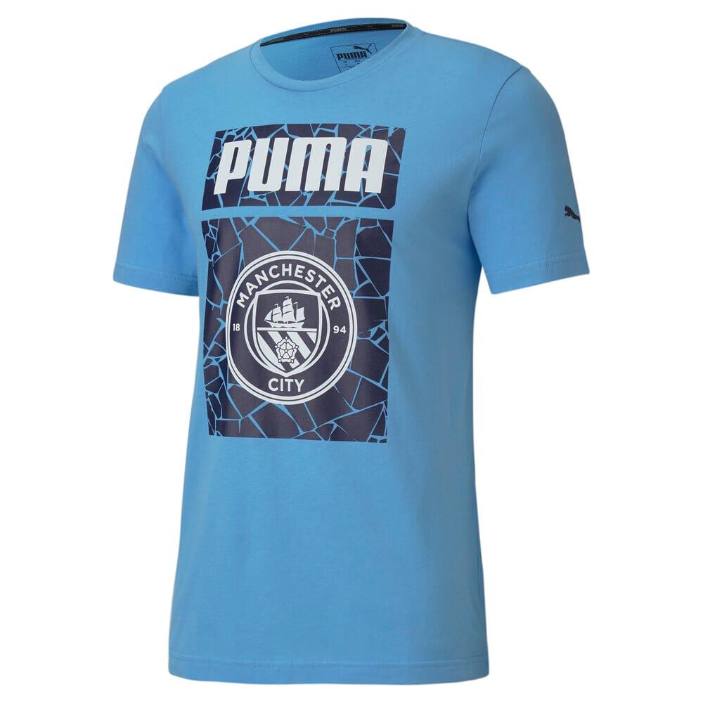 Görüntü Puma MAN CITY ftblCORE GRAPHIC Erkek Futbol T-shirt #1