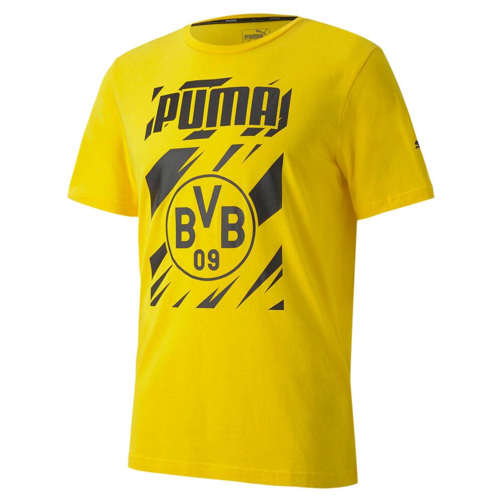 Imagen PUMA Polera deportiva de fútbol ftblCORE con gráfica BVB para hombre #1