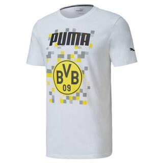 Imagen PUMA Polera deportiva de fútbol ftblCORE con gráfica BVB para hombre