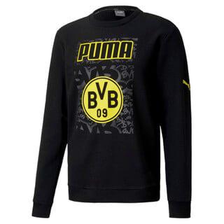 Imagen PUMA Polerón de fútbol ftblCORE con gráfica BVB para hombre