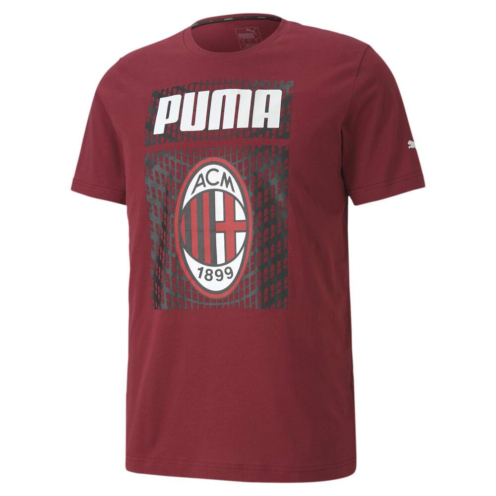 Imagen PUMA Polera de fútbol con gráfica AC Milan ftblCORE para hombre #1