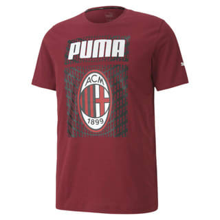 Imagen PUMA Polera de fútbol con gráfica AC Milan ftblCORE para hombre