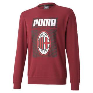 Imagen PUMA Polerón de fútbol ftblCORE con gráfica AC Milan para hombre
