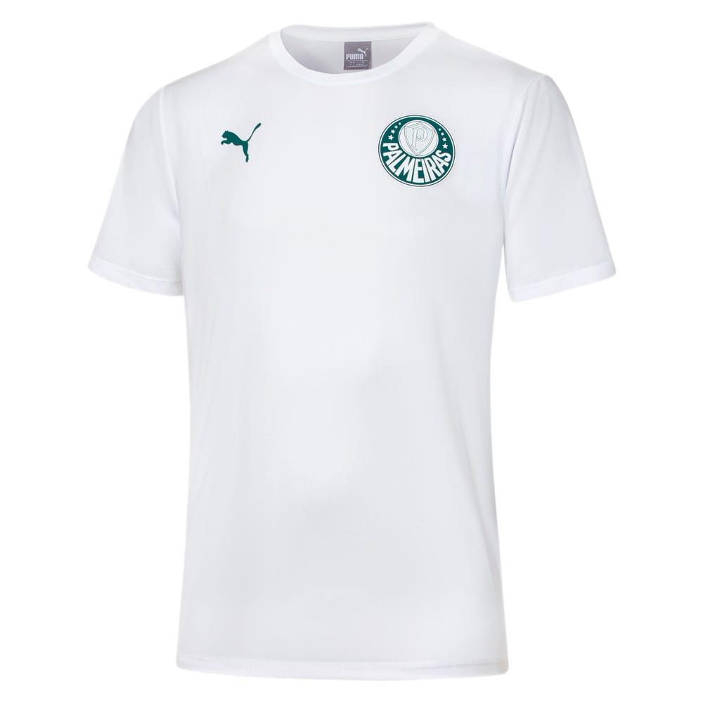 artería tarta cúbico  Camisa Palmeiras Casual Goal Masculina   Branco   PUMA