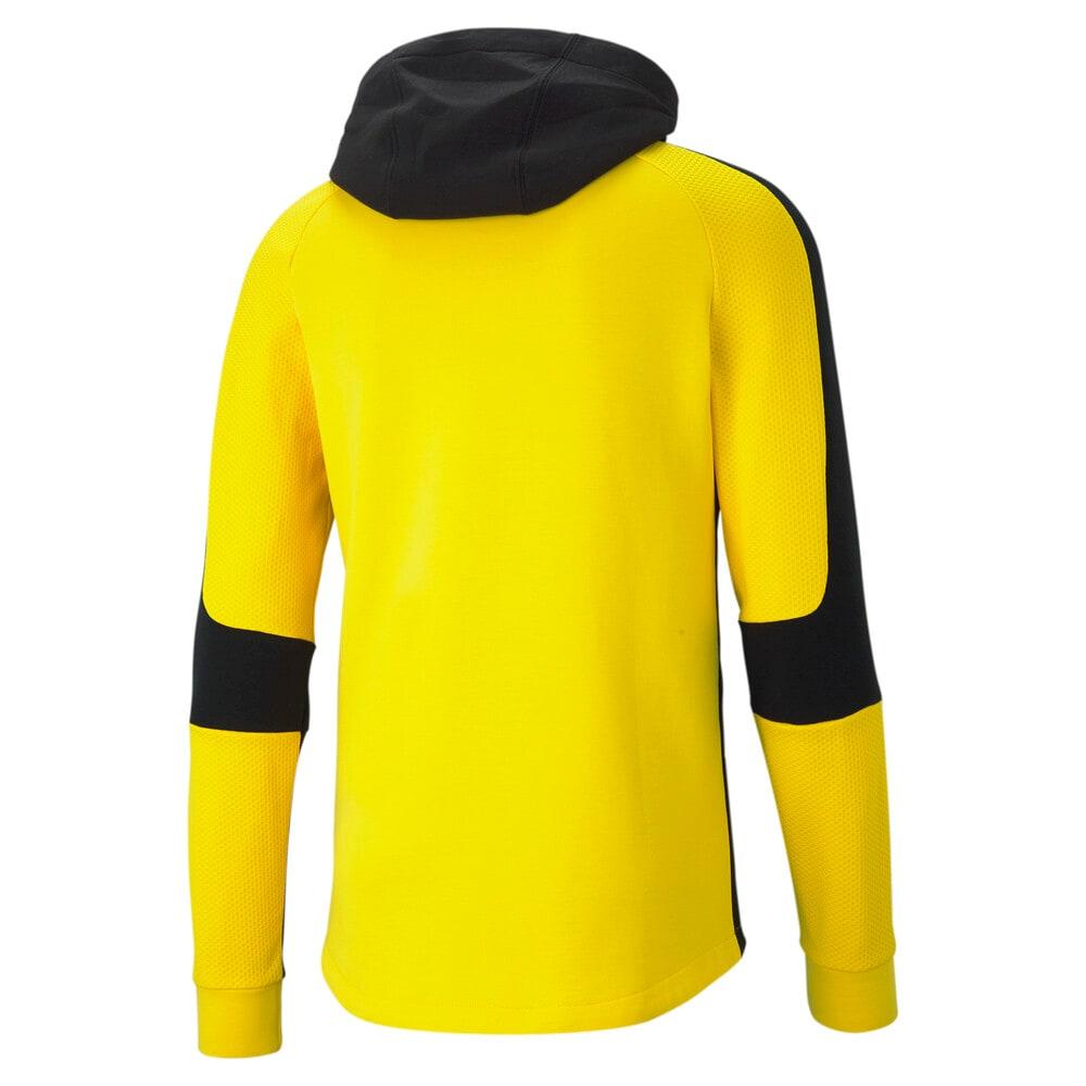 Imagen PUMA Polerón de fútbol con capucha para hombre BVB Evostripe #2