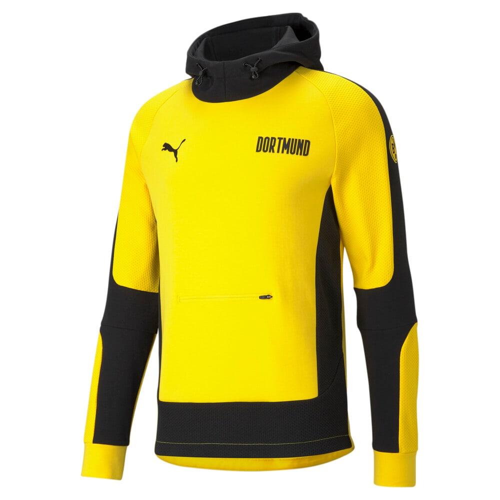 Imagen PUMA Polerón de fútbol con capucha para hombre BVB Evostripe #1