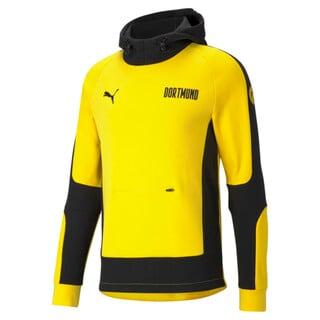 Imagen PUMA Polerón de fútbol con capucha para hombre BVB Evostripe