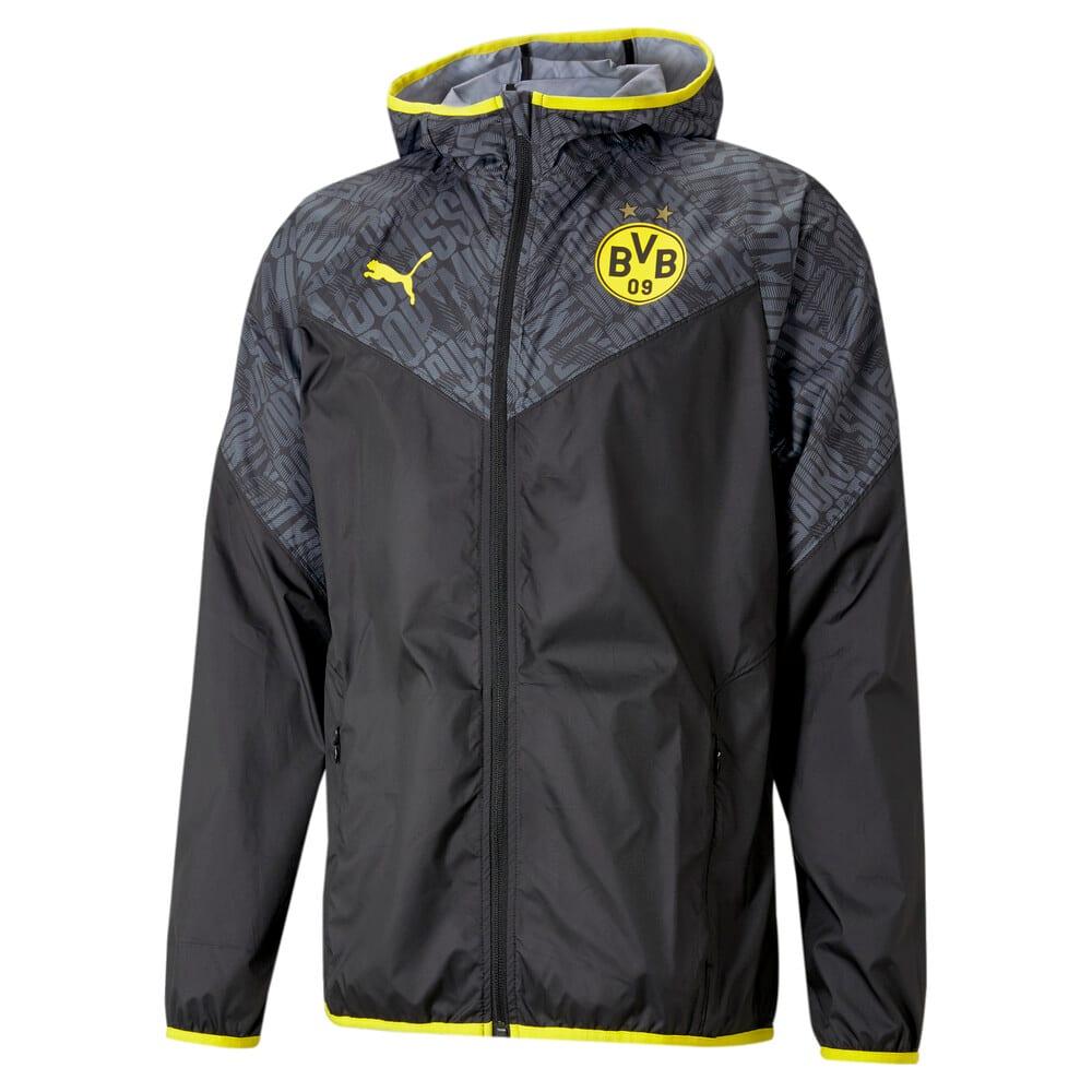 Изображение Puma Ветровка BVB Warm-Up Men's Football Jacket #1