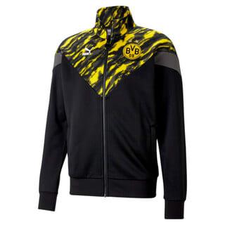 Изображение Puma Олимпийка BVB Iconic MCS Men's Football Track Jacket