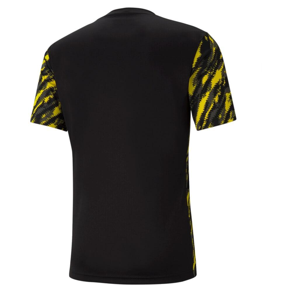 Изображение Puma Футболка BVB Iconic MCS Graphic Men's Football Tee #2: Puma Black-Cyber Yellow