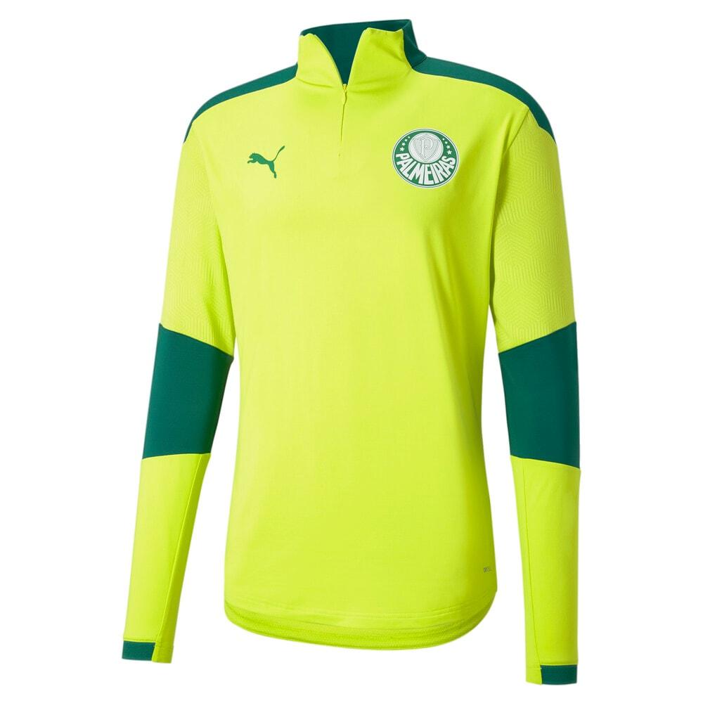 Image PUMA Camisa de Treino com Zíper Palmeiras 2021 Masculina #1