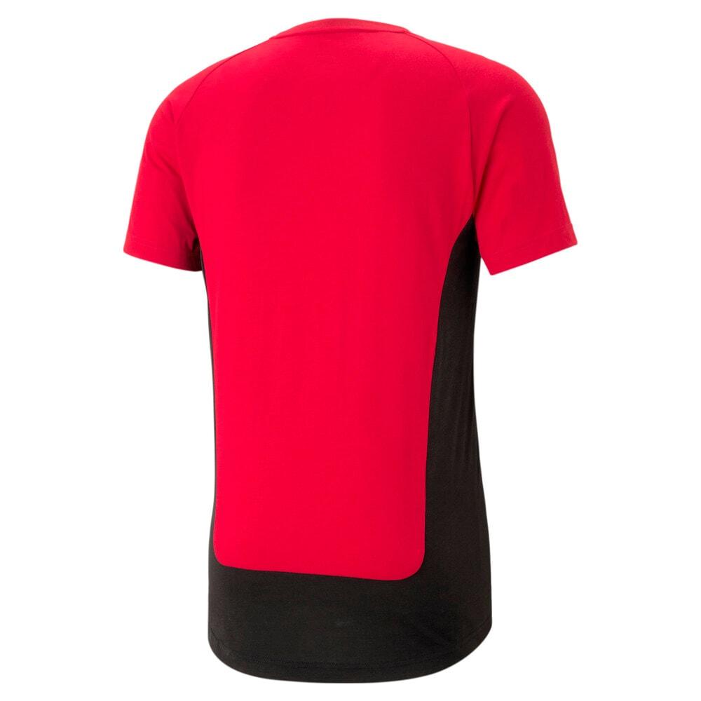 Görüntü Puma AC MILAN EVOSTRIPE Erkek Futbol T-shirt #2