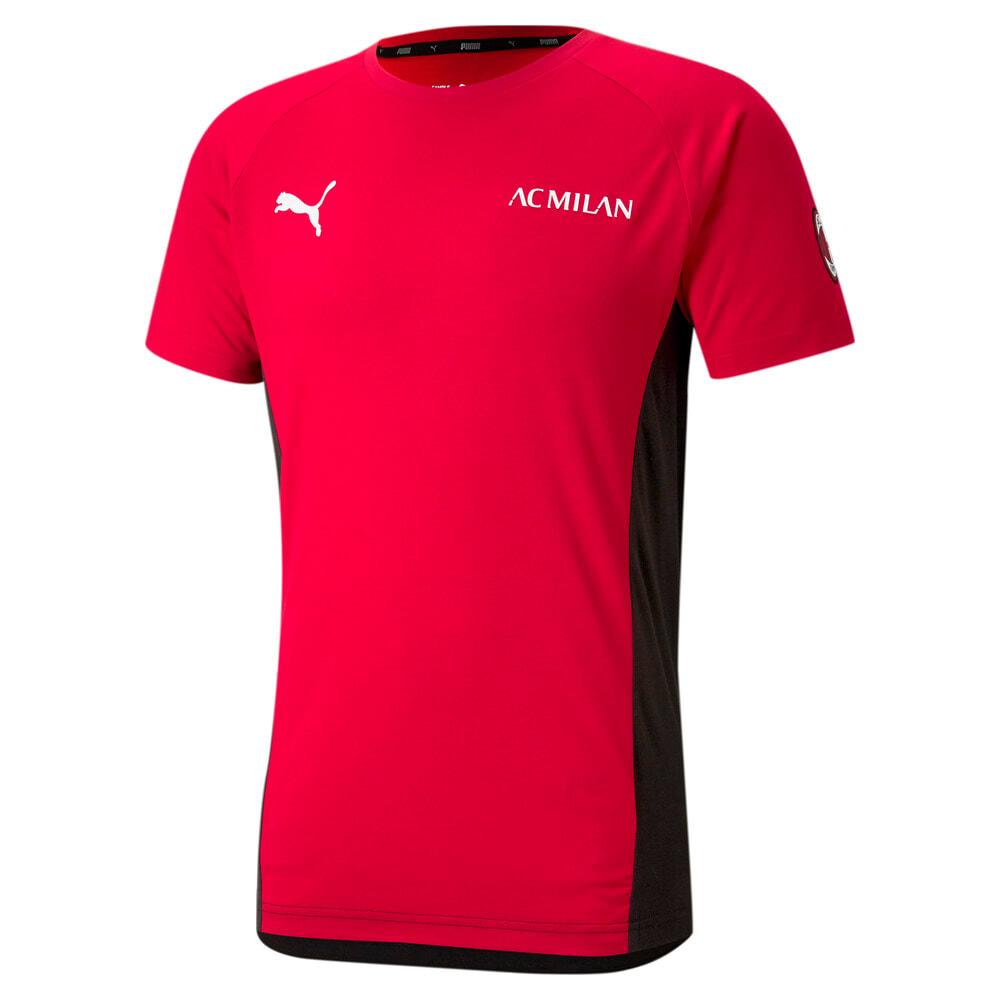 Görüntü Puma AC MILAN EVOSTRIPE Erkek Futbol T-shirt #1