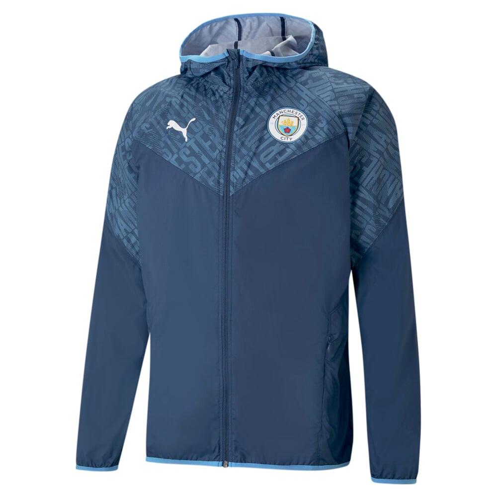 Изображение Puma Ветровка Man City Warm-Up Men's Football Jacket #1