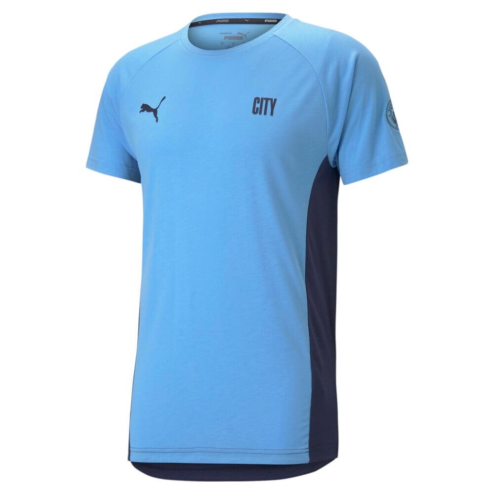 Изображение Puma Футболка Man City Evostripe Men's Football Tee #1