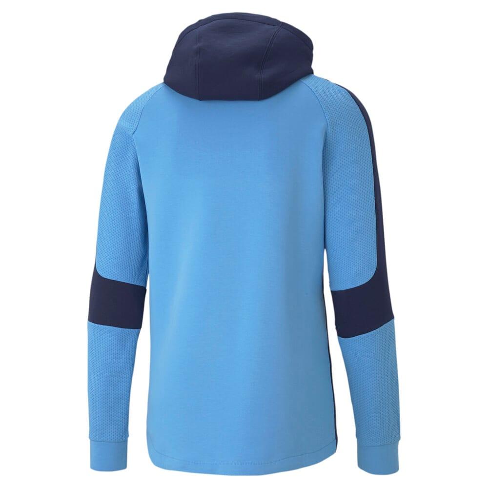 Imagen PUMA Polerón de fútbol con capucha para hombre Manchester City Evostripe #2
