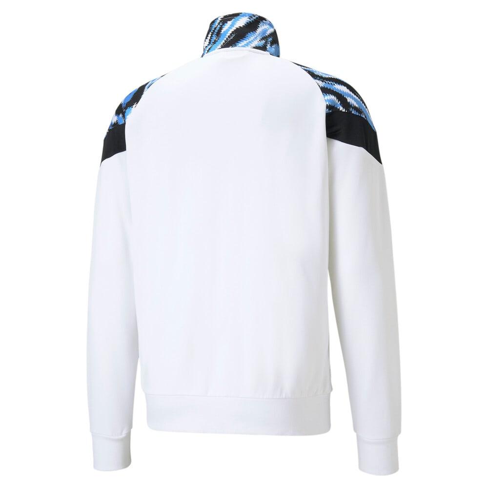 Зображення Puma Олімпійка Man City Iconic MCS Men's Football Track Jacket #2: Puma White-Spectra Yellow