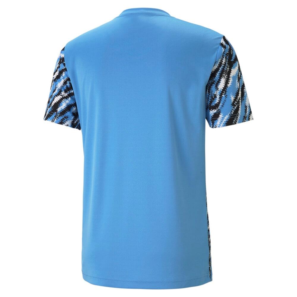 Изображение Puma Футболка Man City Iconic MCS Graphic Men's Football Tee #2: Black-Team Light Blue-White