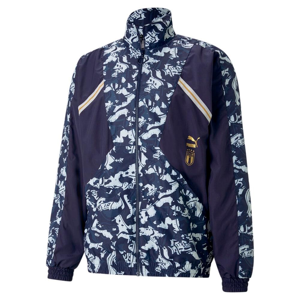 Изображение Puma Олимпийка FIGC TFS Woven Men's Football Jacket #1