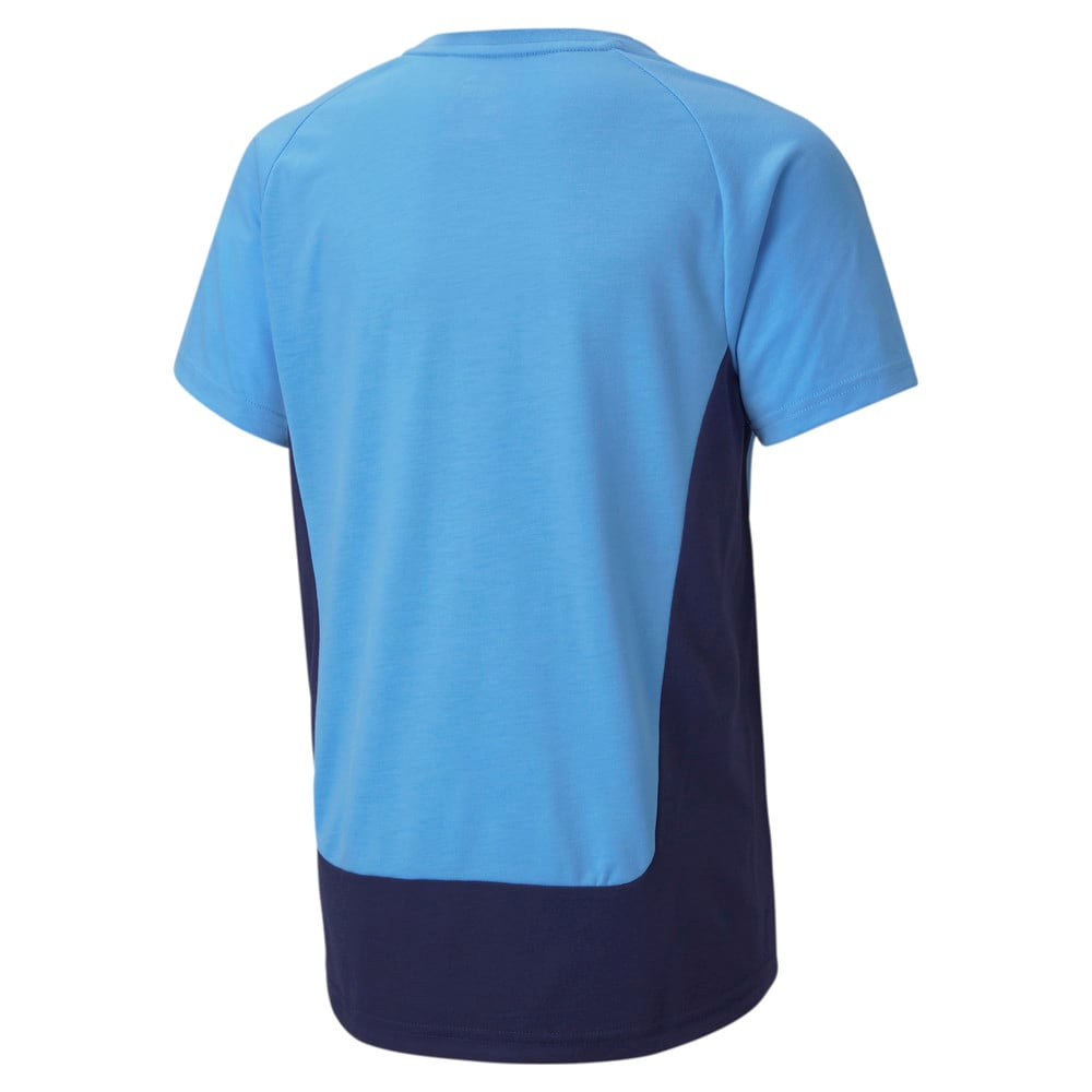 Изображение Puma Детская футболка Man City Evostripe Youth Football Tee #2