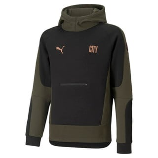 Изображение Puma Детская толстовка Man City Evostripe Youth Football Hoodie