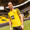 Изображение Puma Футболка BVB Home Replica Men's Jersey #5: Cyber Yellow-Puma Black