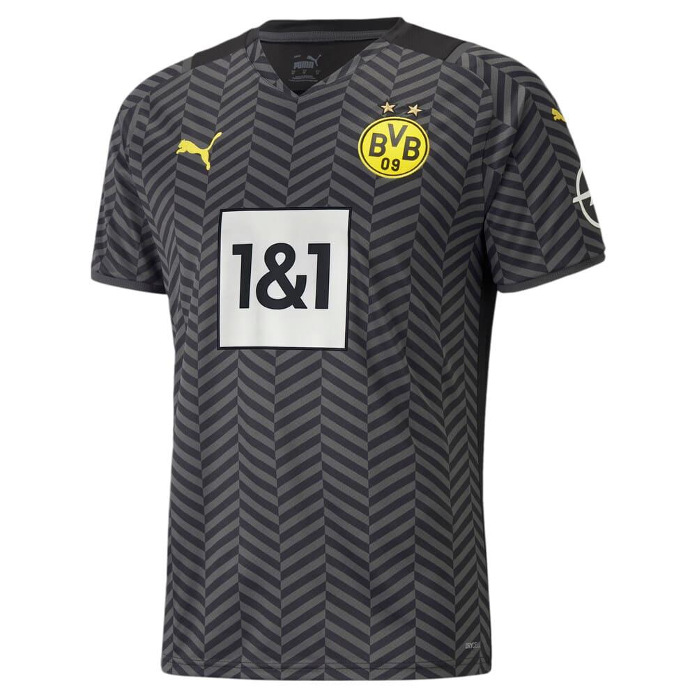 Изображение Puma Футболка BVB Away Replica Men's Jersey21/22 #1: Asphalt-Puma Black