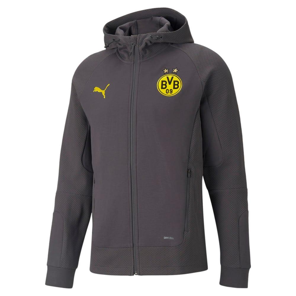 Изображение Puma Олимпийка BVB Casuals Hooded Men's Football Jacket #1