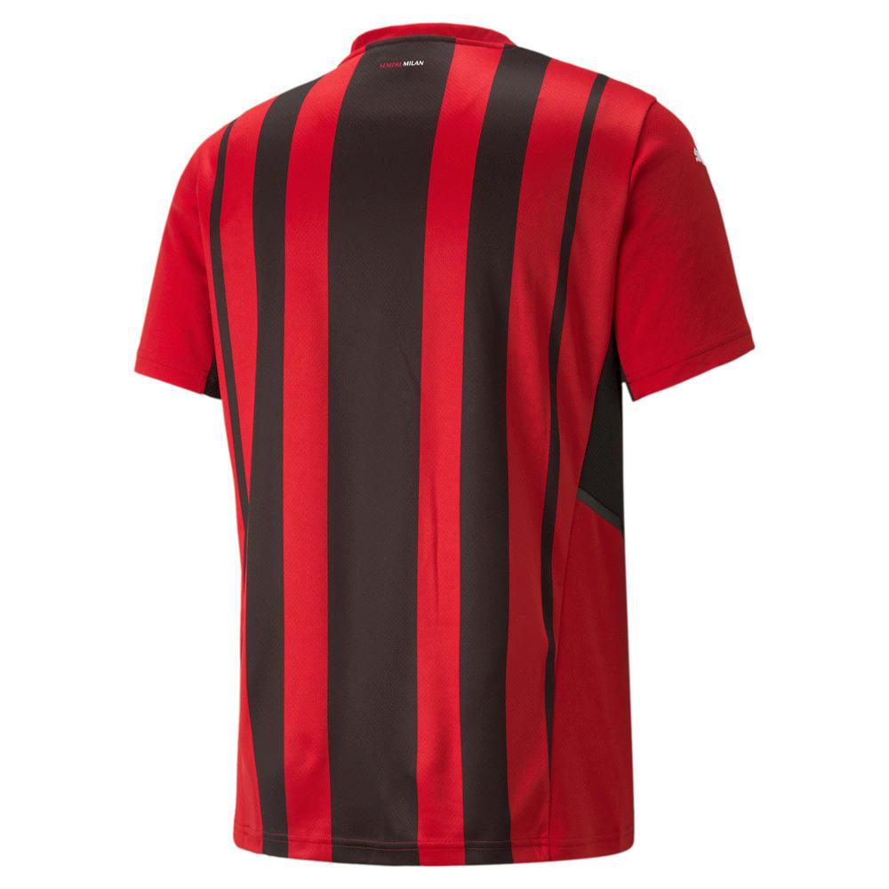 Зображення Puma Футболка AC Milan Home Replica Men's Jersey #2: Tango Red -Puma Black
