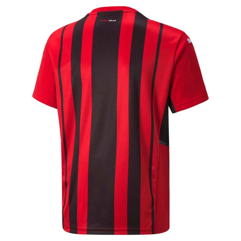 Image Puma AC Milan Home Replica Youth Jersey #2