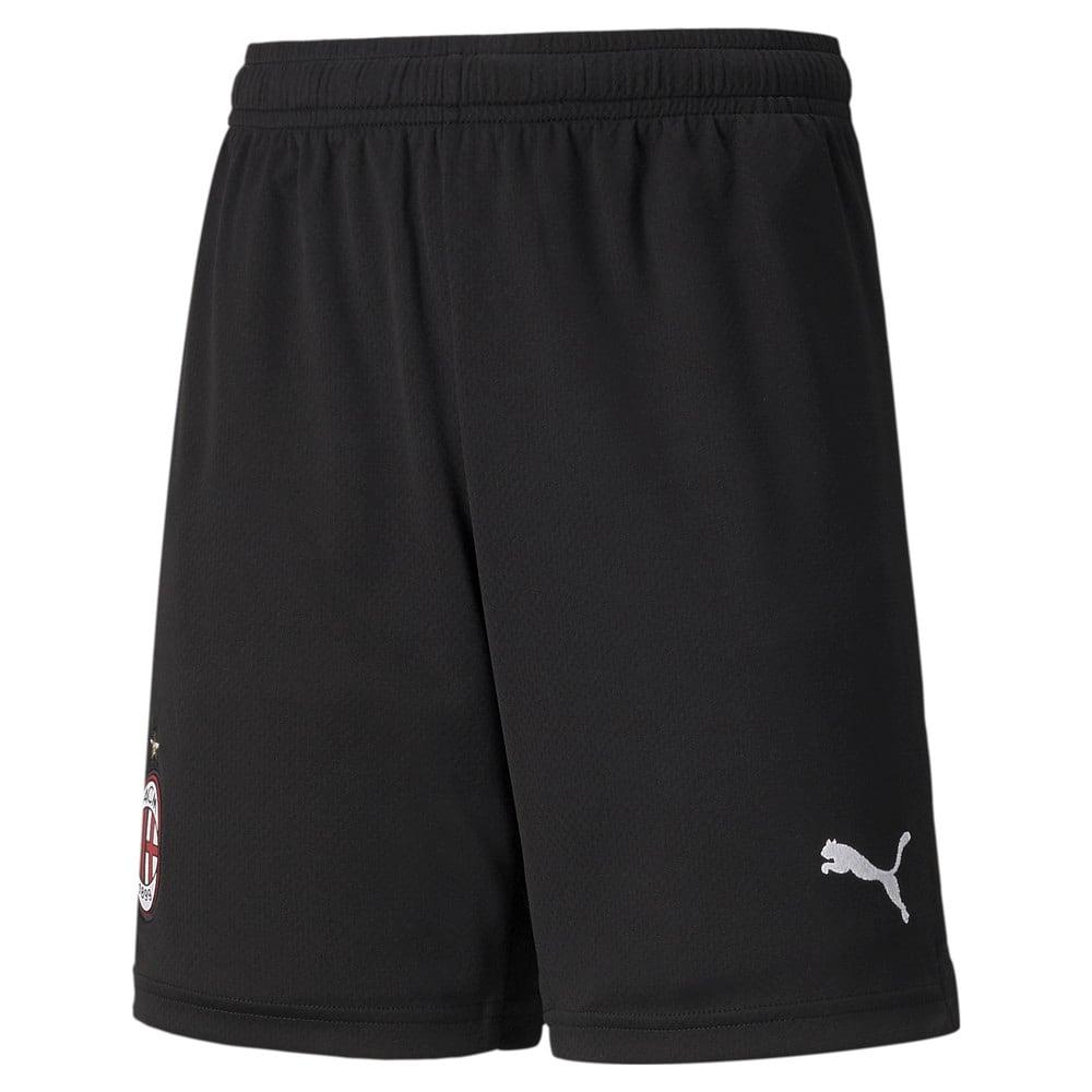 Изображение Puma Детские шорты AC Milan Home Replica Youth Football Shorts #1