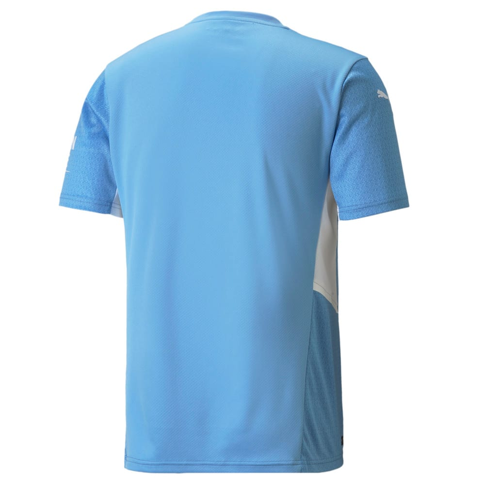 Изображение Puma Футболка Man City Home Replica Men's Jersey21/22 #2: Team Light Blue-Puma White
