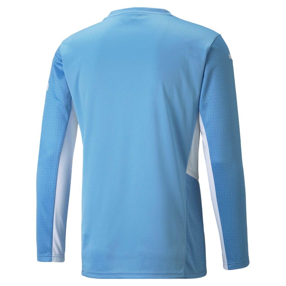 Image Puma Man City Home Replica Long Sleeve Men's Jersey 21/22 #2